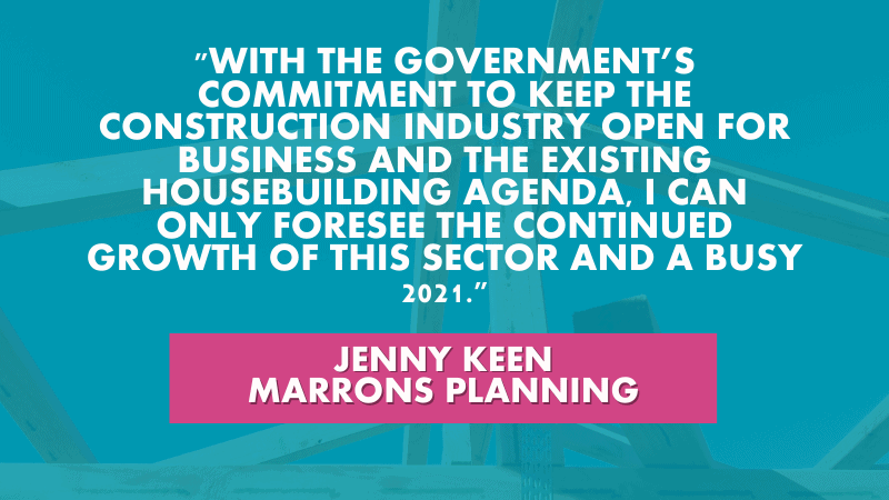 property and construction - Jenny Keen quote